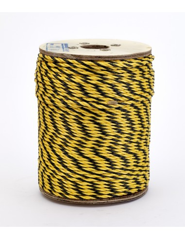 Poly Safety Rope 1/4 X 600' YEL/BLK