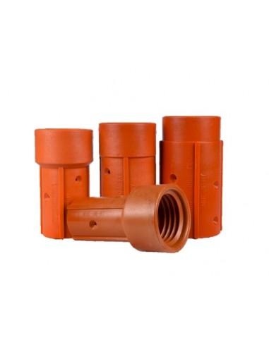 Nozzle Holder - Full Port 50mm Threads (Nylon)