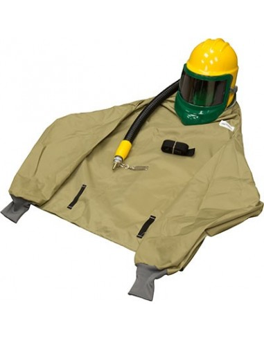 "BULLARD GENVX, COMPRESSED AIR RESPIRATOR, TYPE CE, 38"" PARKA PKVX, F30 CONSTANT FLOW 1/4"" INDUSTRIAL INTERCHANGE"