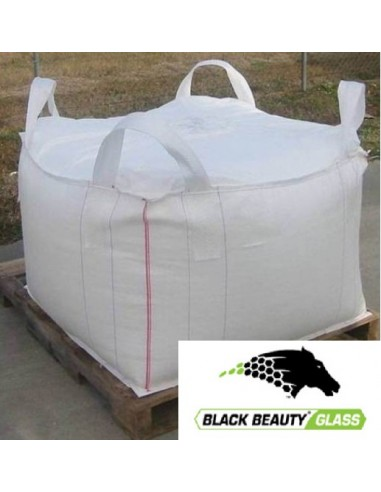 Black Beauty GLASS jumbo bag
