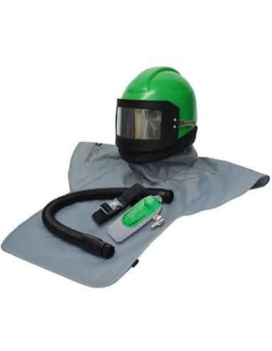 RESPIRATOR, RPB® NOVA 2000™, W/ C40 CLIMATE CONTROL DEVICE, INCLUDES MEDIUM HEAD DOME & SIDEWINGS