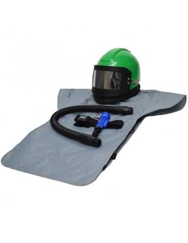 RESPIRATOR, RPB® NOVA 2000™, W/XL CAPE & COOL TUBE, INCLUDES MEDIUM HEAD DOME & SIDEWINGS
