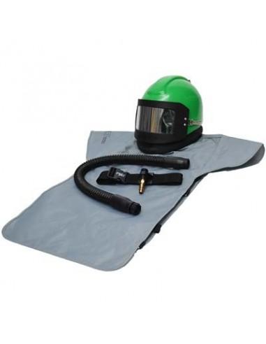 RESPIRATOR, RPB® NOVA 2000™, LOW PRESSURE, W/XL CAPE, INCLUDES MEDIUM HEAD DOME & SIDEWINGS