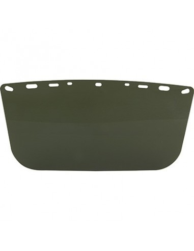 Bullard Polycarbonate Shade 5 Flat Faceshield/Visor
