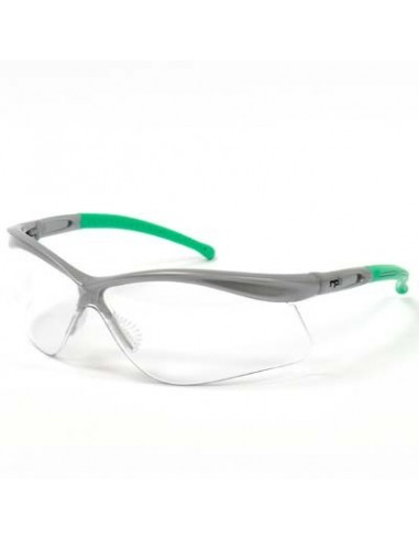 261 Safety Glasses, Clear Lenses, w/ Side Arm Sleeves