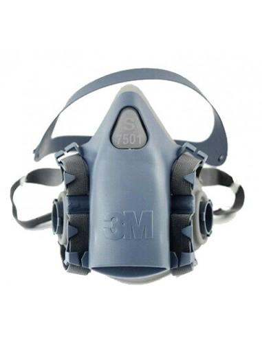 For 3M 7501 reusable Respirator Painting Spraying half Face/Gas Mask