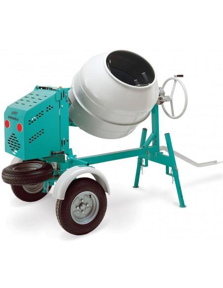 CONCRETE MIXER 6 CU FT, GASOLINE POWERED - TOW BEHIND-Rentals