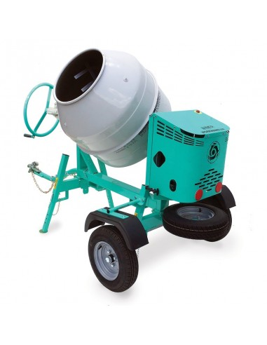CONCRETE MIXER 12 CU FT, ELECTRIC,  - TOW BEHIND