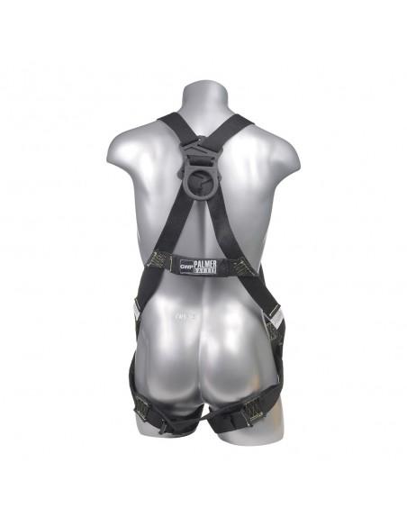 HARNESS 5PT, FR DIELECTRIC, BACK D-RING, BLACK COLOR-Harnesses