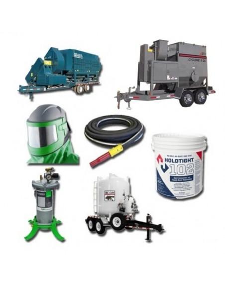 Sandblasting Equipment Rentals