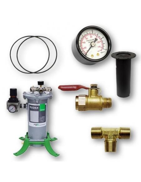 Air Line Filter, Parts & Manifold