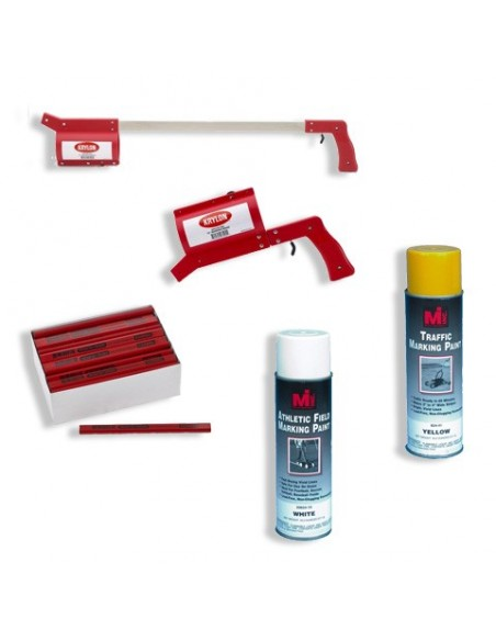 Spray Can and Applicators