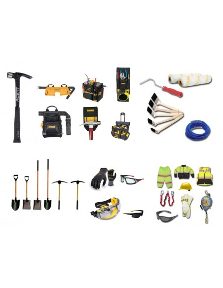 Tool belts and accessories