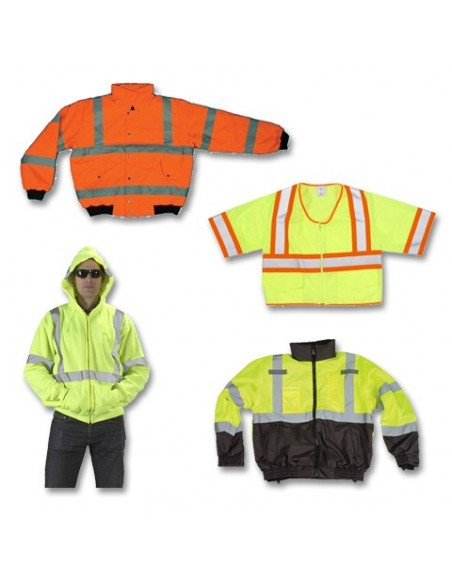 Class 3 Jacket, Rain Suit & Sweatshirt