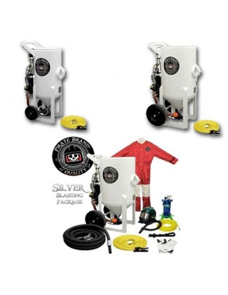 Abrasive Blast Pot (PRESSURE HOLD) 1.5 - 6.5 CU FT - Pneumatic Controls