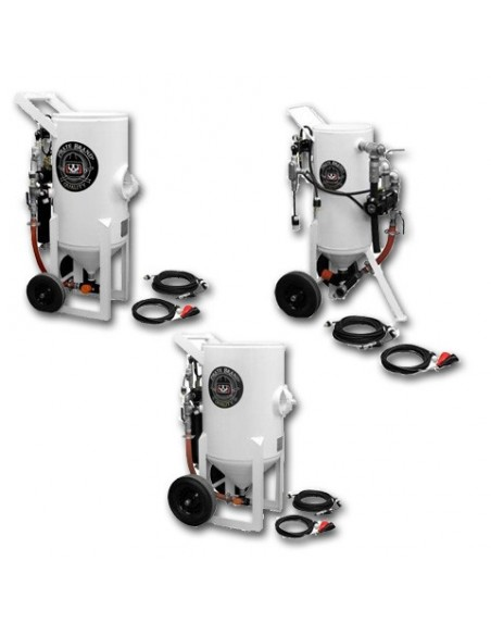 Abrasive Blast Pot (PRESSURE RELEASE) 1.5 - 6.5 CU FT - Electric Controls