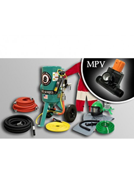 MPV - ELECTRIC PORTABLE ABRASIVE BLASTERS - 3.0/6.0 CU FT