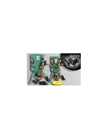 AMVII -STATIONARY ABRASIVE BLASTERS - BLAST POT - 3.0/6.0 CU FT