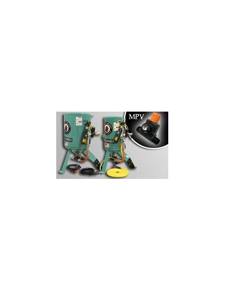 MPV - STATIONARY ABRASIVE BLASTERS - BLAST POT 3.0/6.0 CU FT