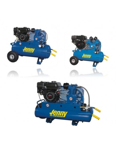 Jenny Gasoline Powered Air Compressors