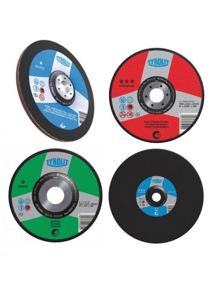 Grinding Wheels and Cutting Wheels